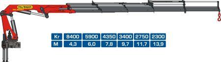 кран-манипулятор Palfinger PK40002
