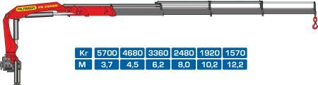 Кран-манипулятор Palfinger PK23500C