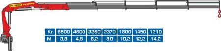 Кран-манипулятор Palfinger PK23500D
