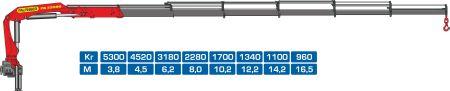 Кран-манипулятор Palfinger PK23500E