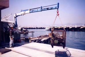 Кран-Манипулятор Cormach 28200 E8 Marine