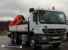 MB Actros с КМУ Palfinger РК23500A и колесосъемом NW2705