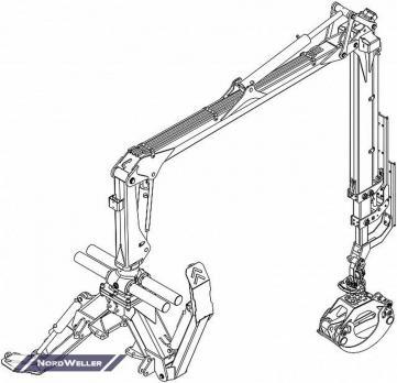 Кран-манипулятор PALMS 7.86