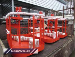 Подвесная  люлька для гидравлический КМУ Европейского производства