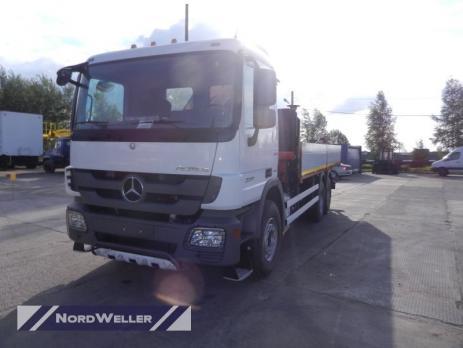 Бортовой Mercedes Benz Actros 3341 с КМУ Palfinger РК30002K-A