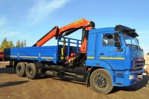 Бортовой КАМАЗ 65117 с КМУ Palfinger PK30002K