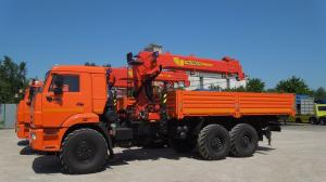 Бортовой КАМАЗ 43118 с КМУ Инман ИТ 150