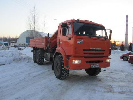 Бортовой КАМАЗ 43118 с КМУ Palfinger PK23500A