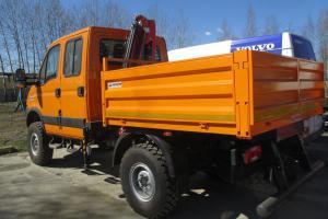 Бортовой Iveco Daily с КМУ Palfinger PC2700B-V1