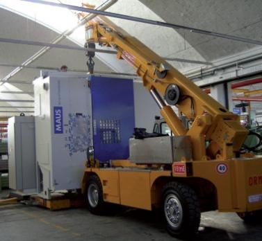 Автокран Gru Pick & Carry Elettriche 16 tmE